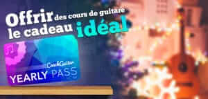 offrir des cours de guitare