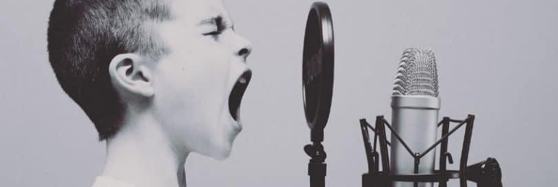 Application pour apprendre à chanter