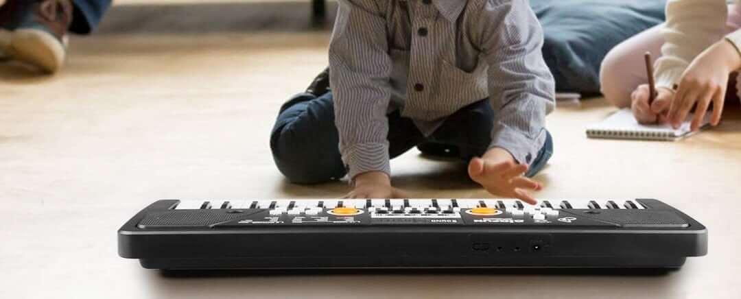 meilleur piano numérique pour enfants