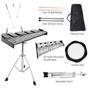 Le kit de cloche de percussion éducatif de la marque S Smautop