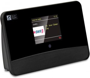 radio internet avec écran tactile